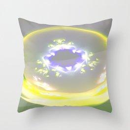 Solaris a fiew to the endless Throw Pillow
