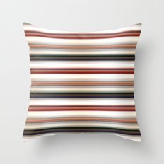 Horizontal Lines Throw Pillow