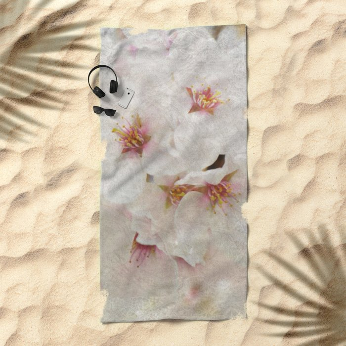 Cherry blossom #5 Beach Towel