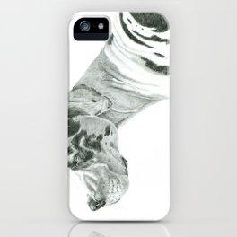 Great dane - harlequin iPhone Case