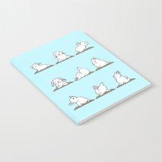 Bunnies Yoga Notebook