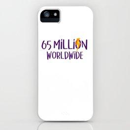 Life Elektrik: 65 Million Worldwide iPhone Case
