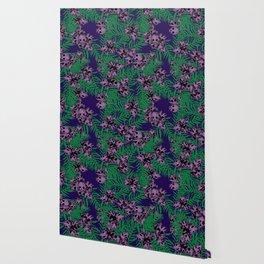 Orchid Skulls Wallpaper