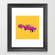 Vintage Cars Framed Art Print