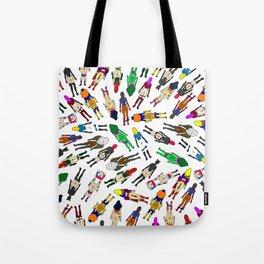Superhero Butts - Girls - Row Version - Superheroine Tote Bag