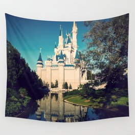 The Disney Castle  Wall Tapestry