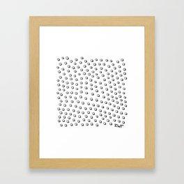 disturbing images Framed Art Print