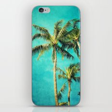 Hawaiian palms iPhone & iPod Skin