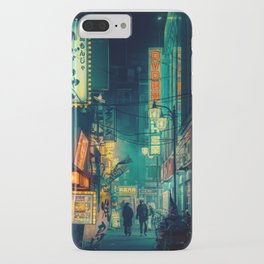 Tokyo Nights / Memories of Green / Blade Runner Vibes / Cyberpunk / Liam Wong iPhone Case