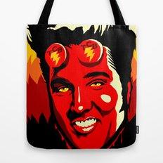 Hellvis Boy Tote Bag