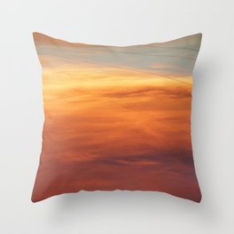 Skylines Throw Pillow