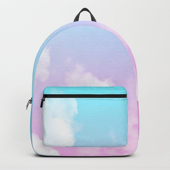 Pink Summer Clouds Backpack