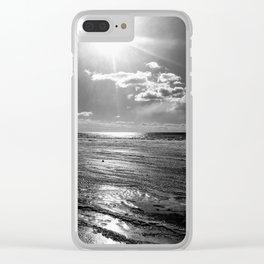 Sun on ice Clear iPhone Case
