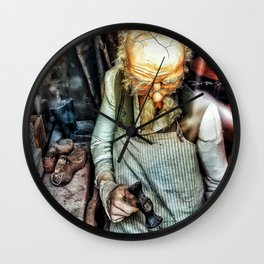 The Cobbler Wall Clock