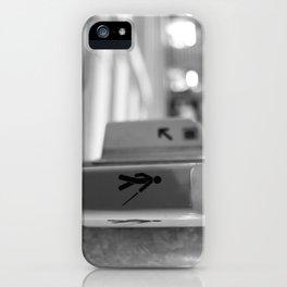Paris crossing iPhone Case