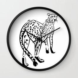 Сheetah Wall Clock