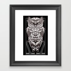 Nocturnal Elegance Framed Art Print