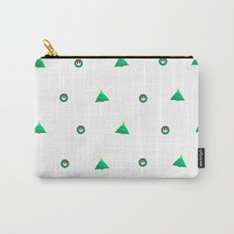 Tree & Wreath Carry-All Pouch