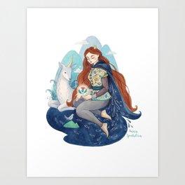Princess of Scotland Art Print