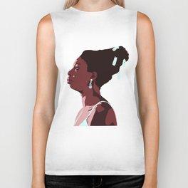 Nina Simone Biker Tank