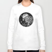 jellyfish Long Sleeve T-shirts featuring Jellyfish by Corinne Elyse