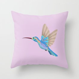 Shaman Colibri Ajna Throw Pillow