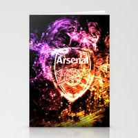 arsenal Stationery Cards featuring ARSENAL by Acus