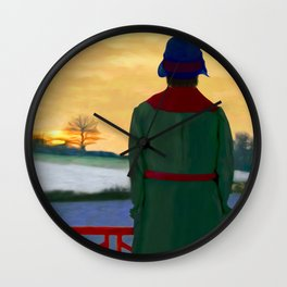 Can Spring be far behind? Wall Clock