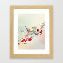Just for Luck Framed Art Print