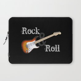 Rock and Roll Guitar Laptop Sleeve