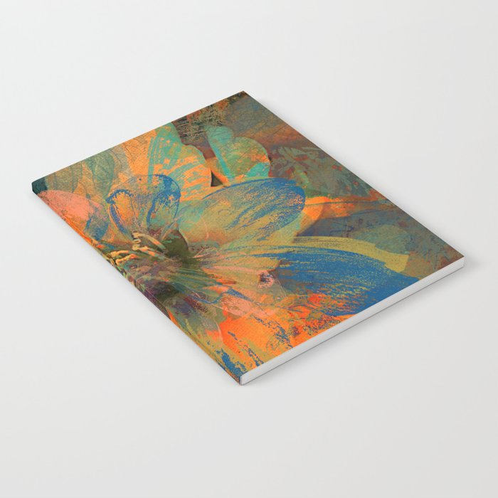 Floral abstract(43) Notebook