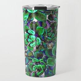Floral tribute [green] Travel Mug