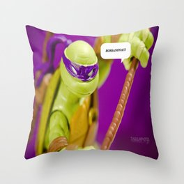 BOSSANOVA!!! Throw Pillow