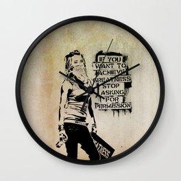 Banksy, Greatness Wall Clock