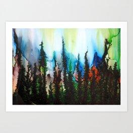 Aurora Borealis Equinox Art Print