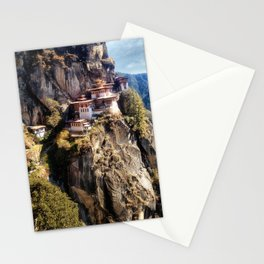 Taktshang Goemba - Tiger's Nest Monastery Stationery Cards