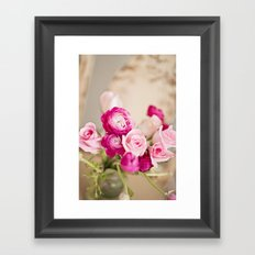 Bunches of Pink Framed Art Print