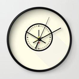 Braun watch Wall Clock