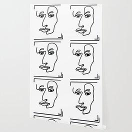 One Line Art Wallpaper
