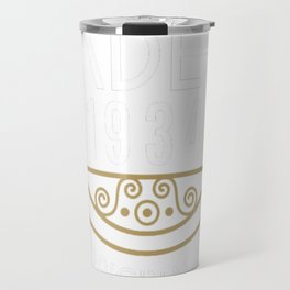 Made In 1934 All Original Parts Birthday Gift Travel Mug