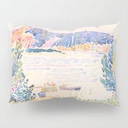 Cap Nègre by Henri-Edmond Cross 1909, French Pillow Sham