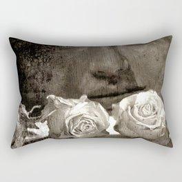 ROSE - vintage version Rectangular Pillow