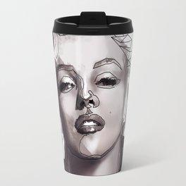 Geometric Marilyn Travel Mug