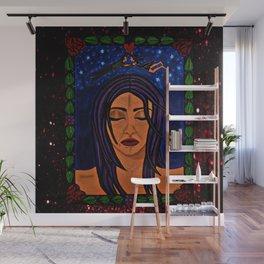 Estrellado, Indigo Sueno Azul (Starry, Indigo Blue Dream) Wall Mural