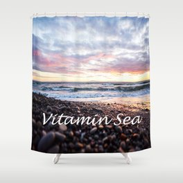 Vitamin Sea Shower Curtain