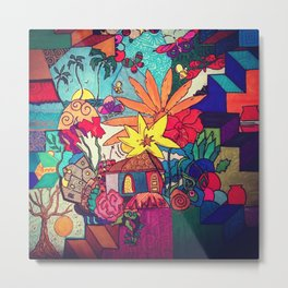 Flowers and colors Metal Print