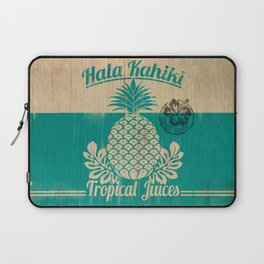 Hala Kahiki Juice Stand wooden board. Laptop Sleeve