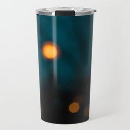 Blurry Night Travel Mug
