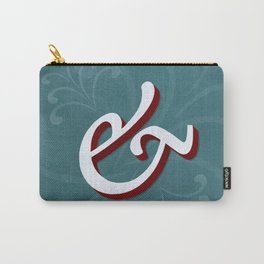 Minion Pro Italic Ampersand Carry-All Pouch