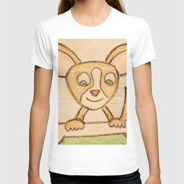 Chihuahua with bone T-shirt
